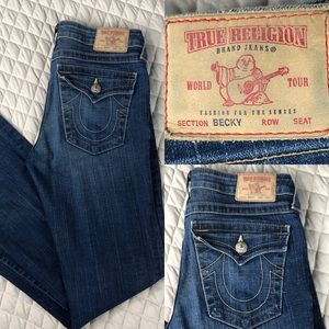 "True Religion ""Becky"" Jeans"